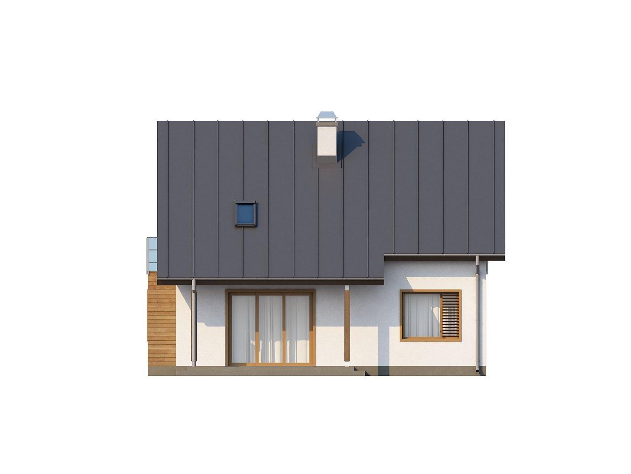 Компактный и функциональный дом с кабинетом на первом этаже и с эркером в обеденной зоне. 8