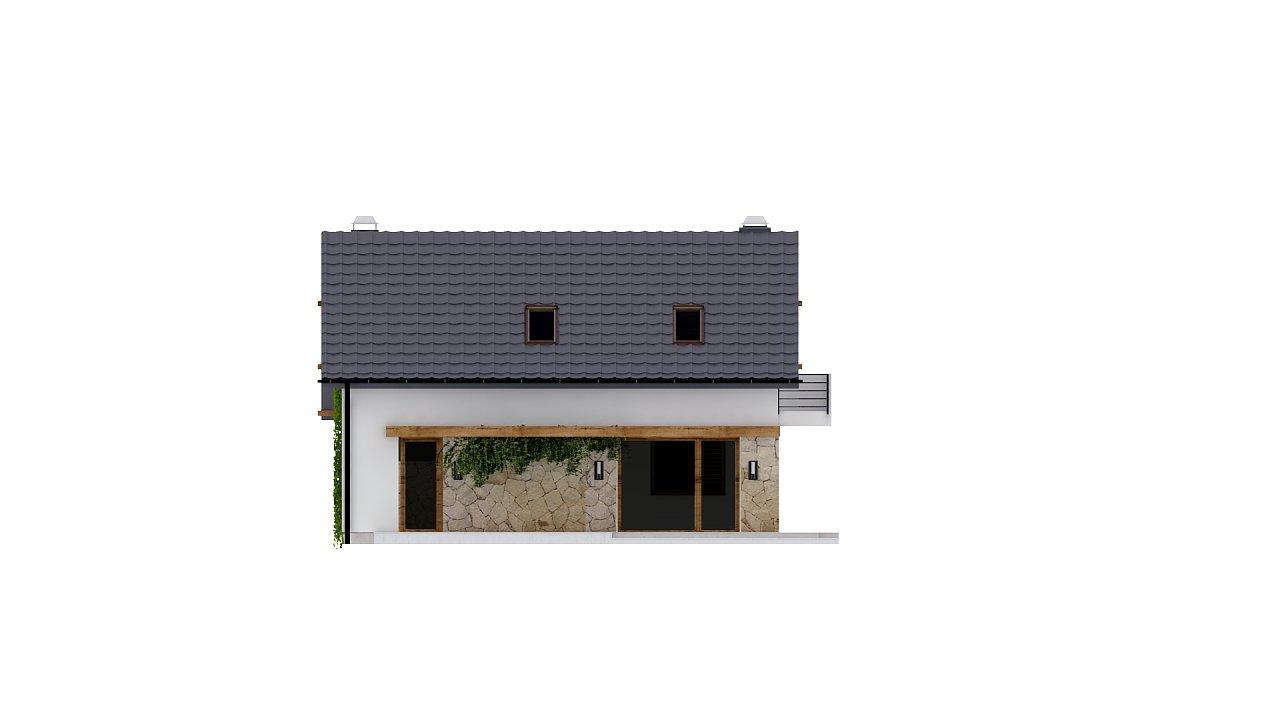Практичный аккуратный дом с мансардой, с удобной функциональной планировкой. 22