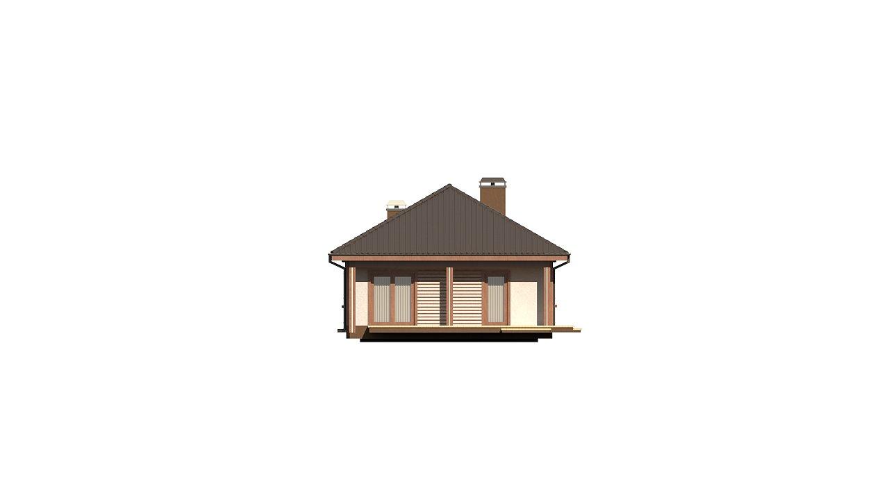 Уютный одноэтажный дом с гаражом на одну машину 5