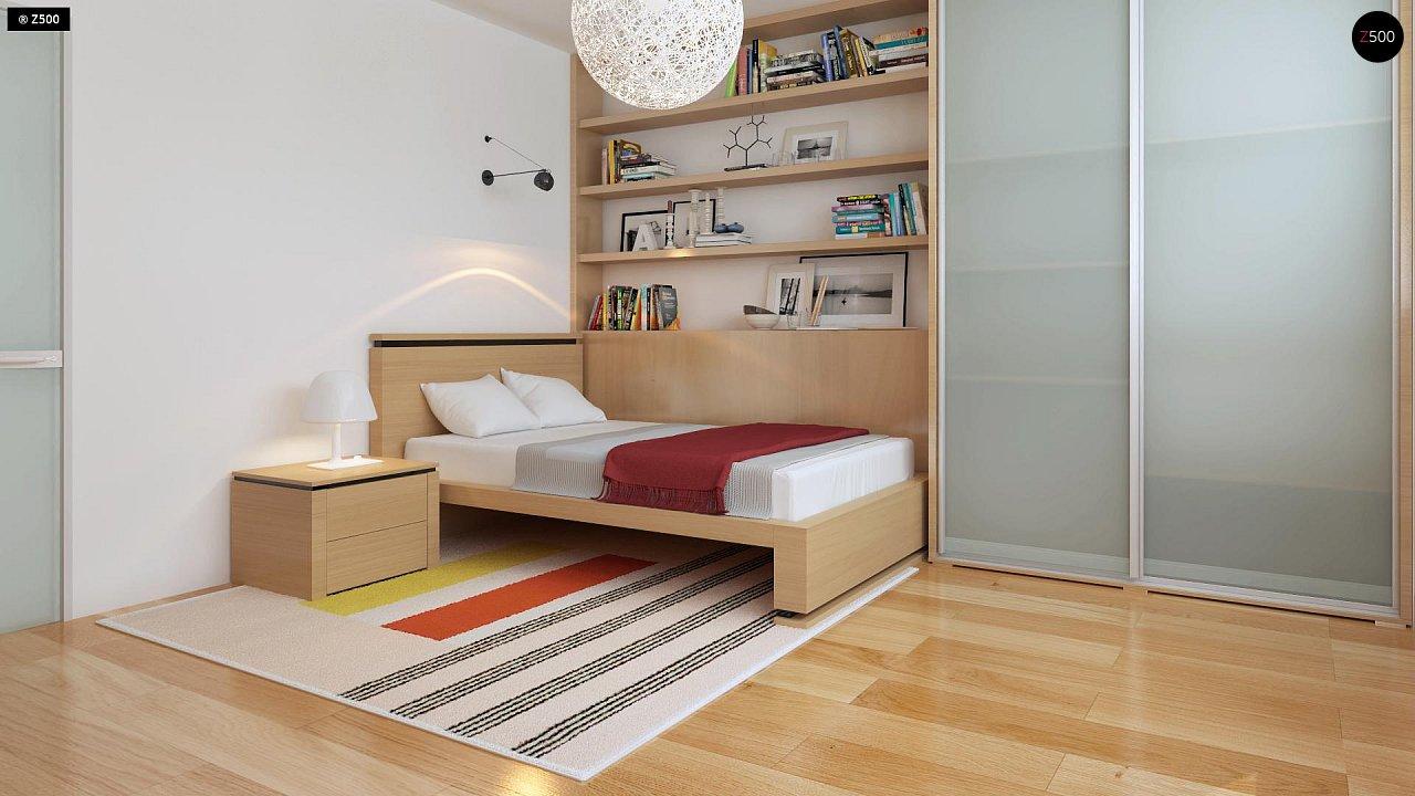 Добротный особняк модернистского характера с большой площадью остекления. 11