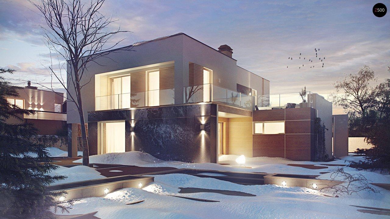 Комфортный современный дом с дополнительным помещением для коммерческого использования. - фото 1