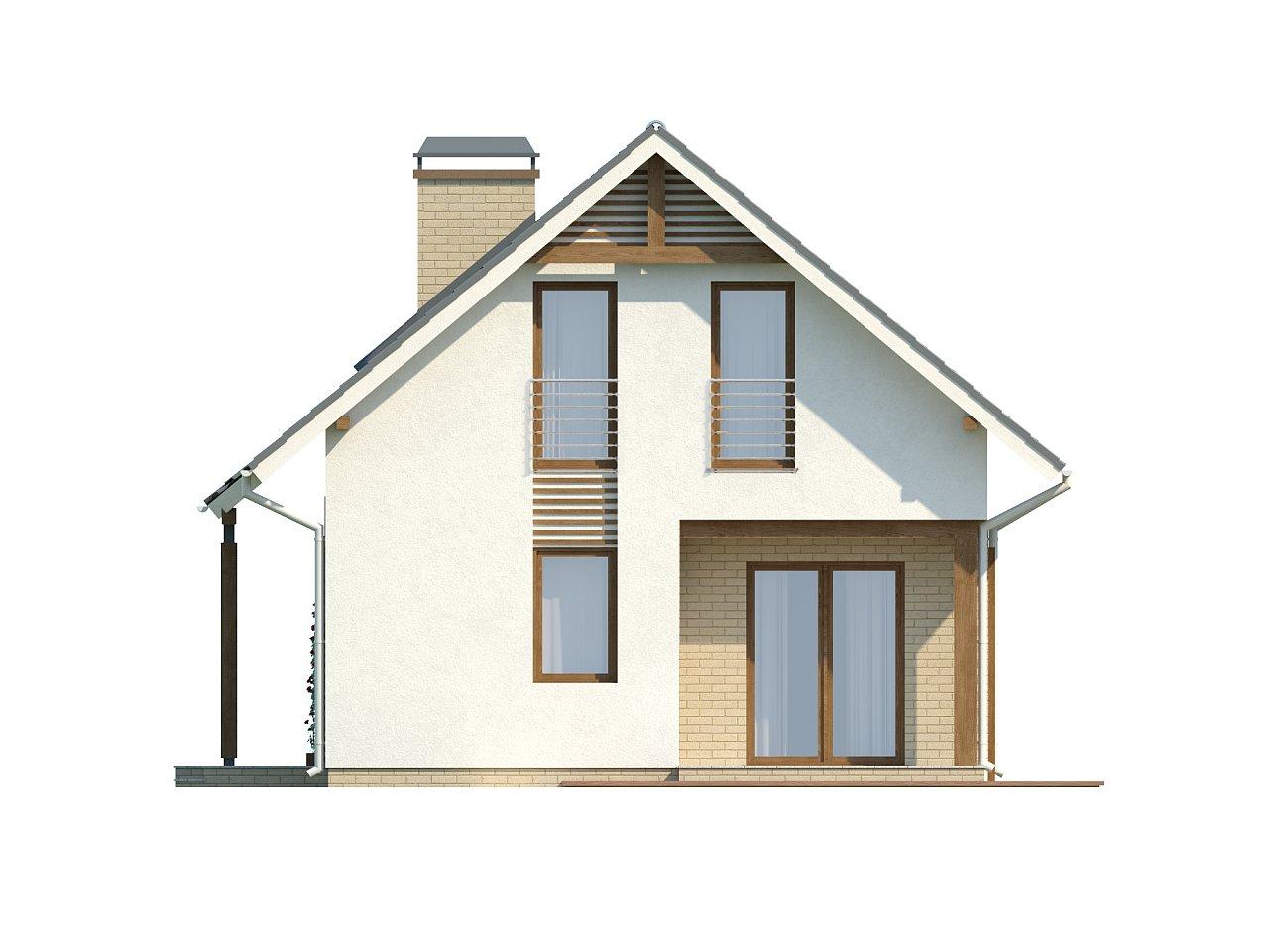 Практичный функциональный дом, недорогой в строительстве и эксплуатации. 14