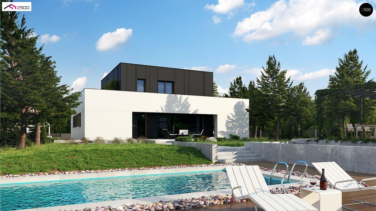 Дом в современном стиле с подвалом 5