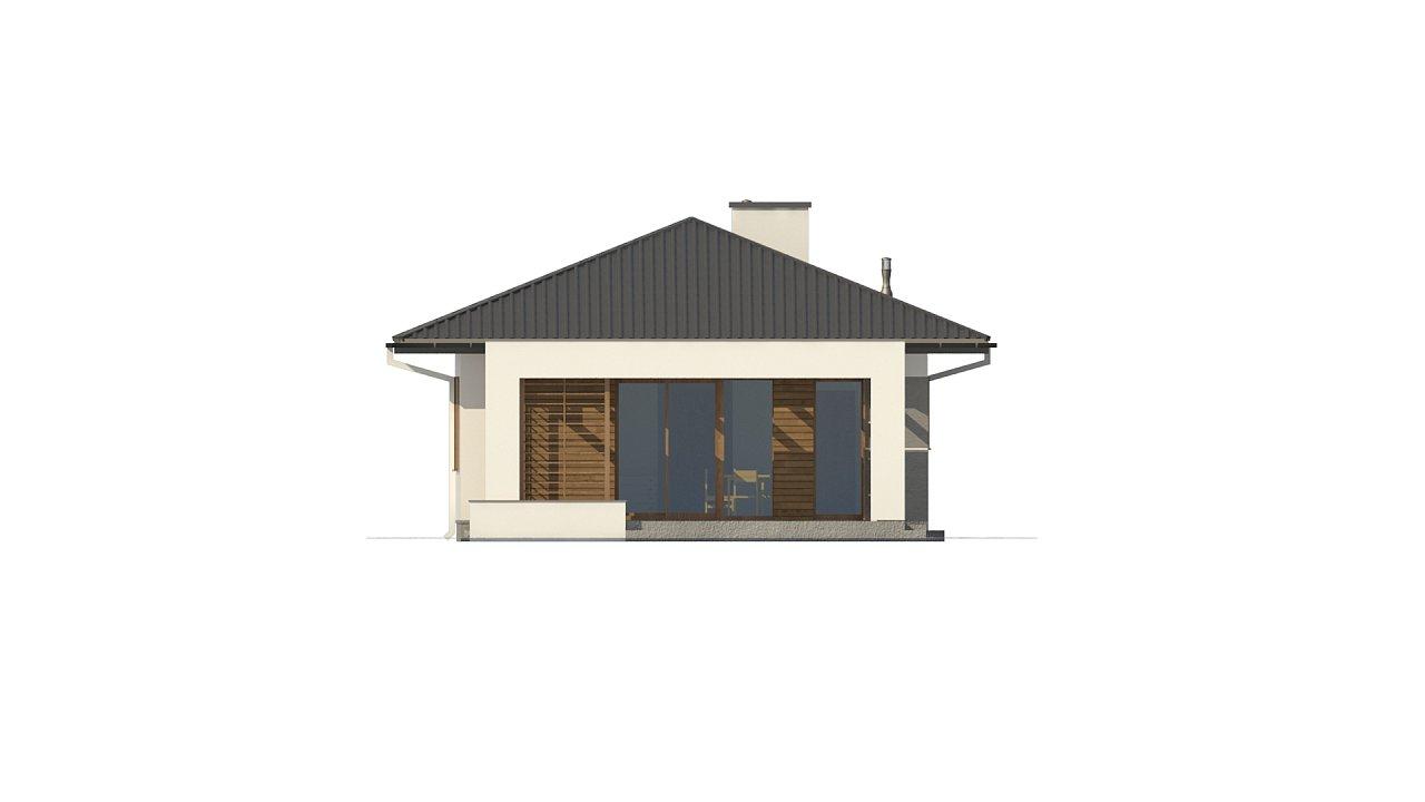 Одноэтажный функциональный дом для небольшой семьи - фото 9