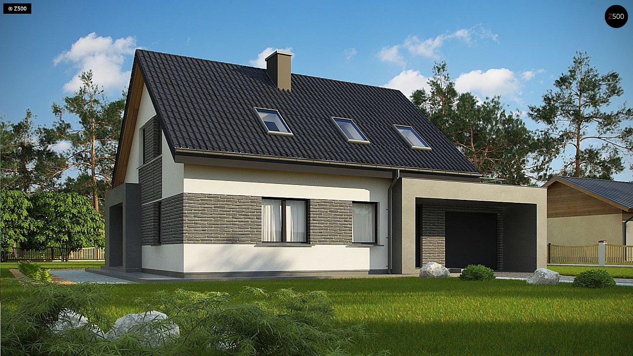 Проект комфортного дома в современном европейском стиле. 3