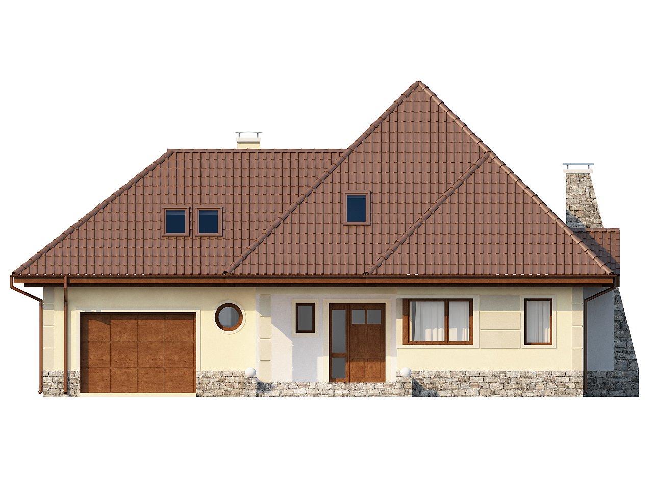 Просторный функциональный дом сложной формы. - фото 3