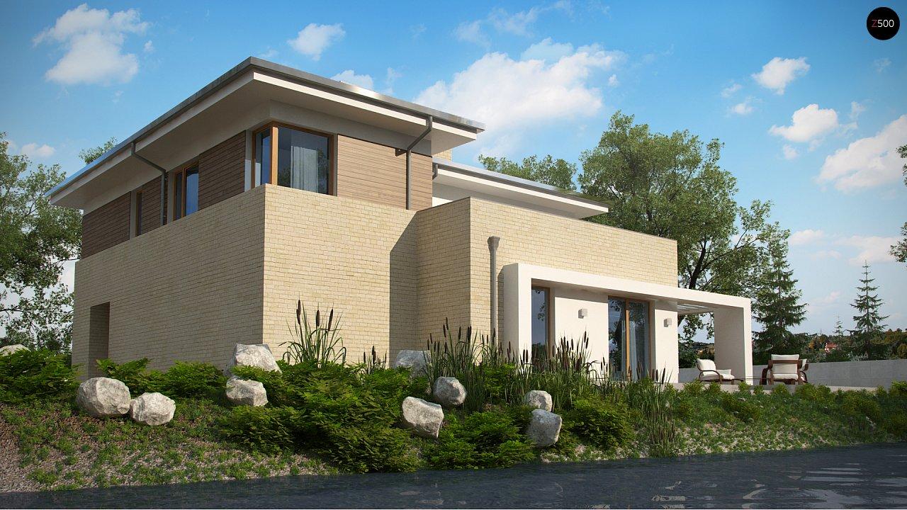 Современный комфортный двухэтажный дом с баней - фото 4