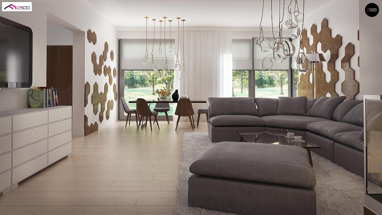 Комфортный современный дом со светлым и уютным интерьером. 6