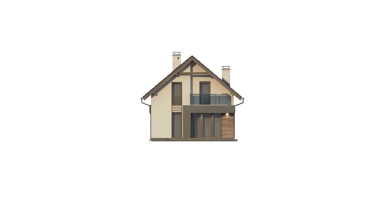Компактный и удобный дом традиционной формы, подходящий, также, для узкого участка. 17