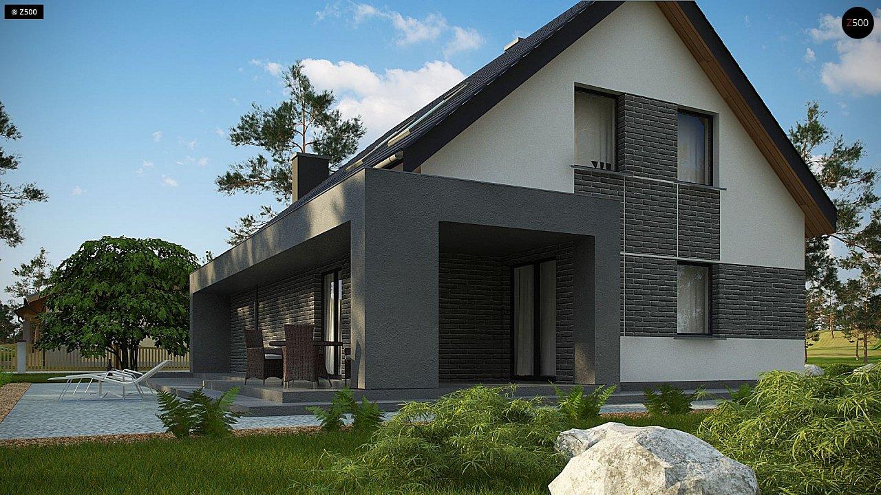 Проект комфортного дома в современном европейском стиле. - фото 7