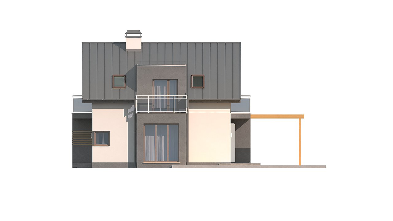 Дом традиционной формы с современными элементами в архитектуре. Уютный и функциональный интерьер. - фото 17