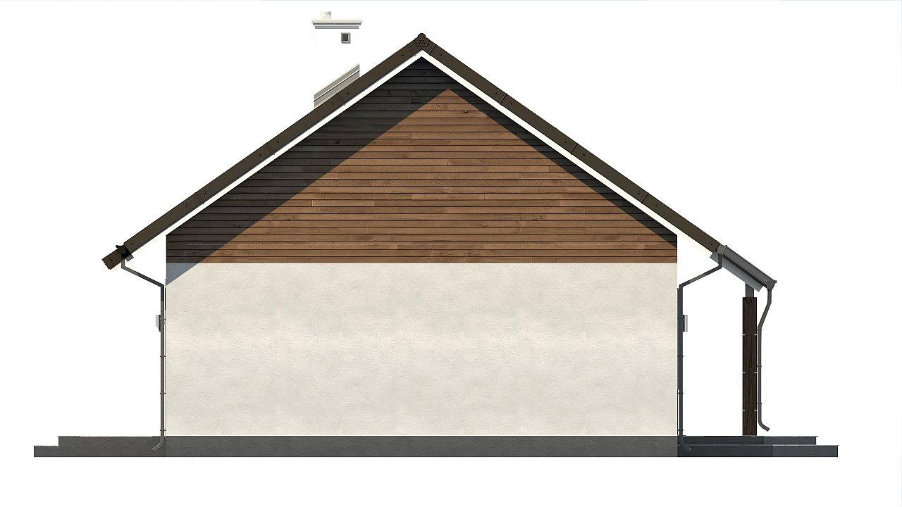 Версия проекта Z7 с углом наклона крыши 35 градусов. 23