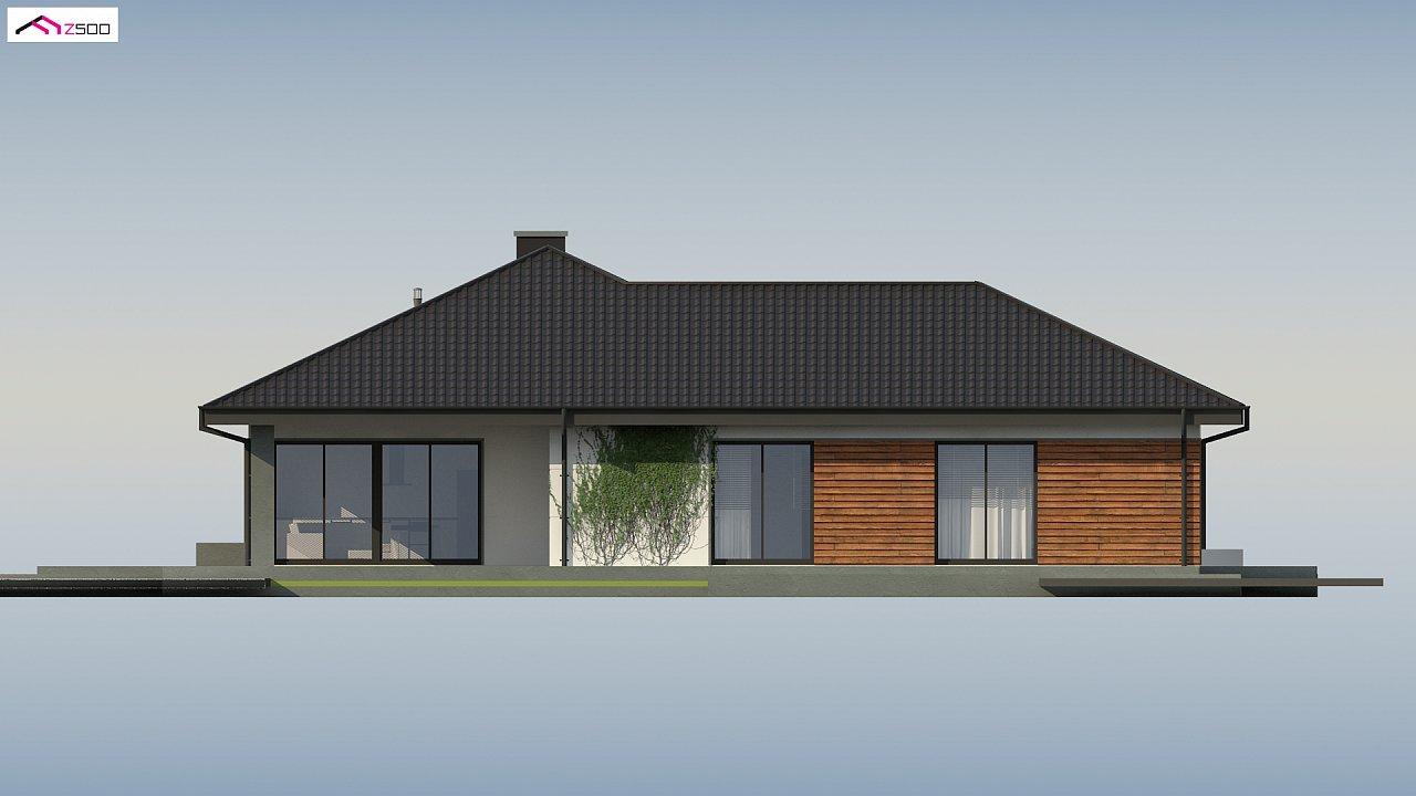 Проект комфортного и функционального одноэтажного дома. - фото 16