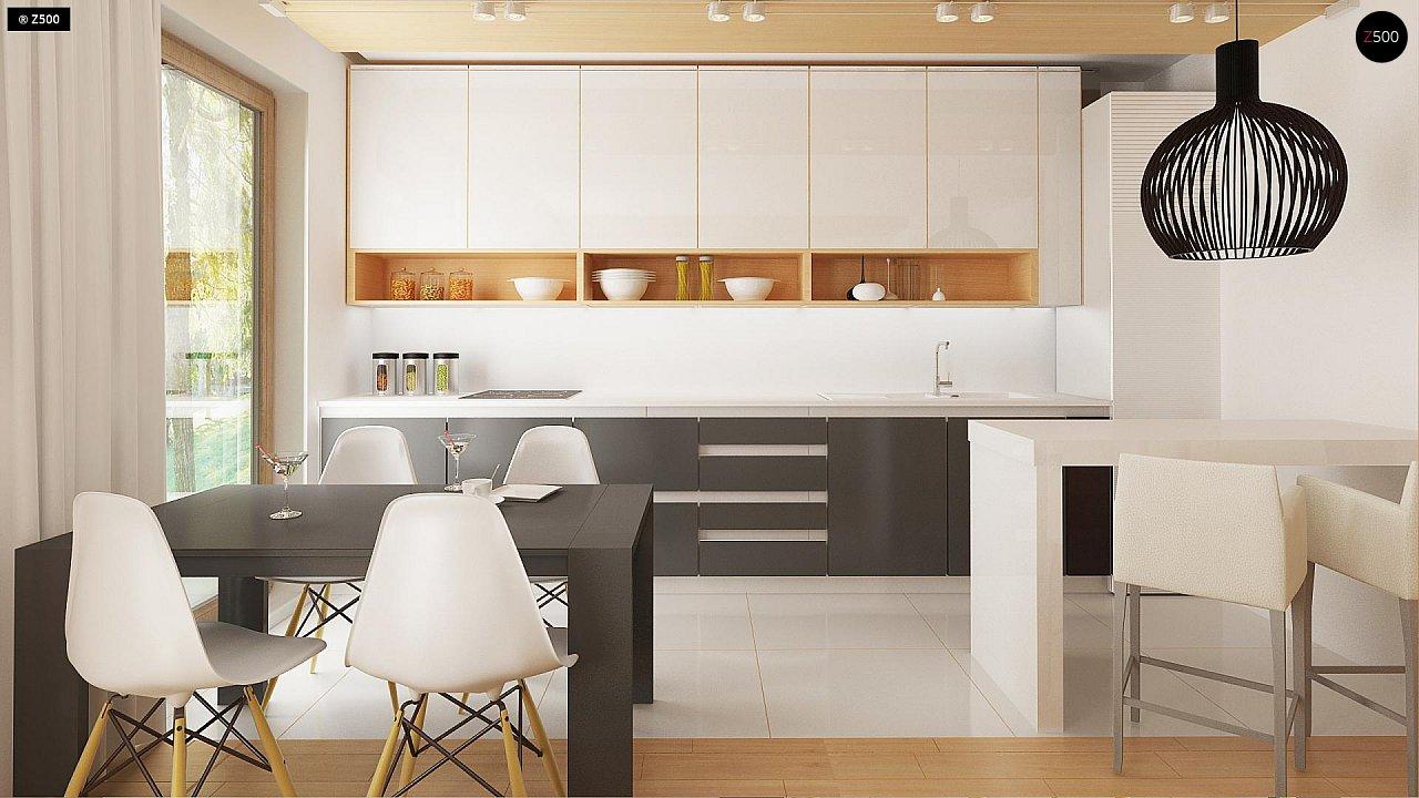 Новый вариант проекта Z38 - уютного двухэтажного дома. 6
