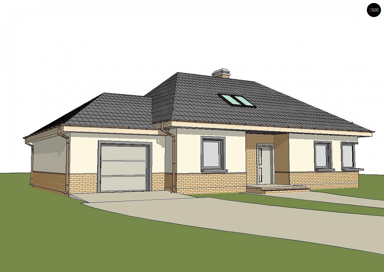 Современный дом с гаражом 2