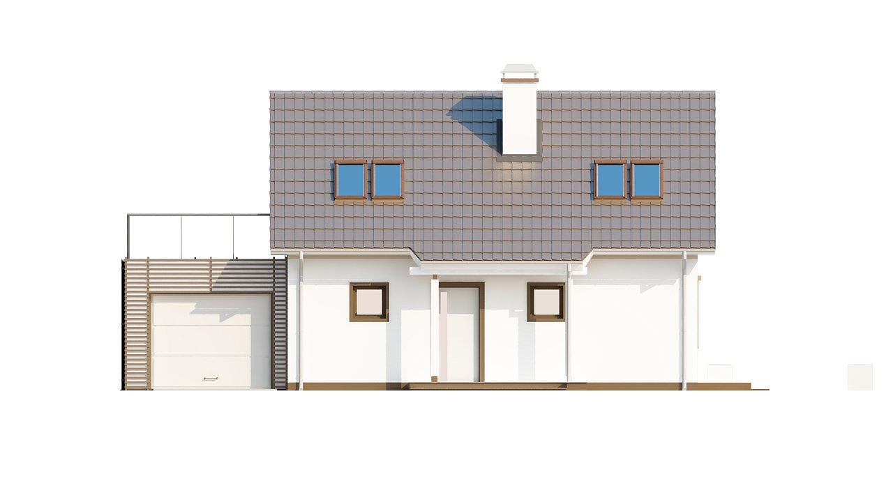 Уютный дом с террасой над гаражом, с возможностью обустройства зимнего сада. - фото 34