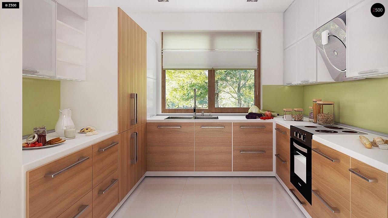 Стильный одноэтажный дом с комфортной крытой террасой 16