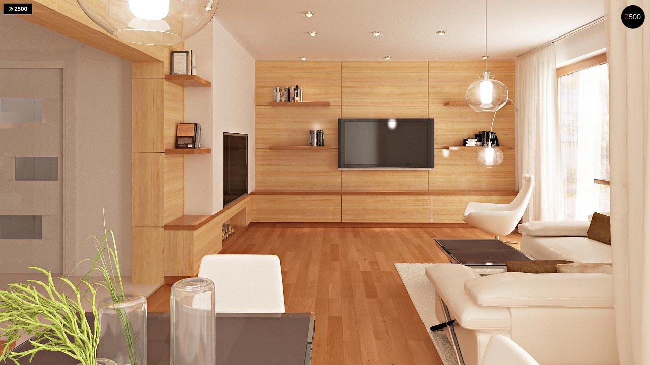 Проект стильного, функционального и недорогого двухсемейного дома. 3