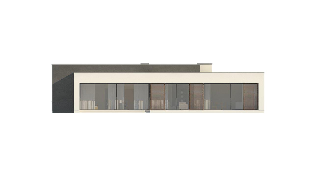 Современный дом с 4 спальнями, гаражом на 2 машины и большими окнами 20