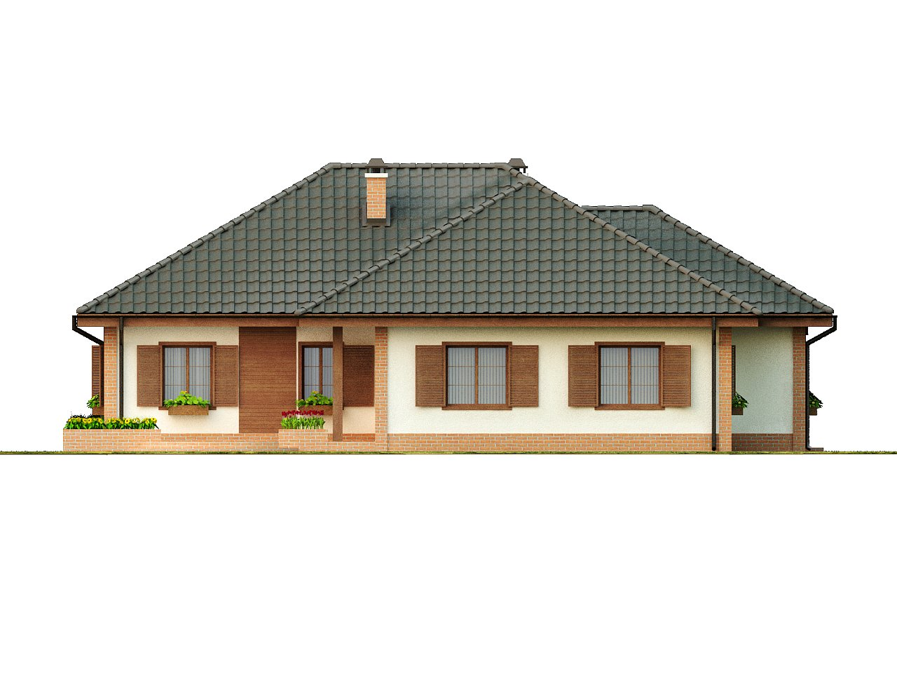 Просторный комфортный одноэтажный дом с гаражом для двух машин. - фото 5