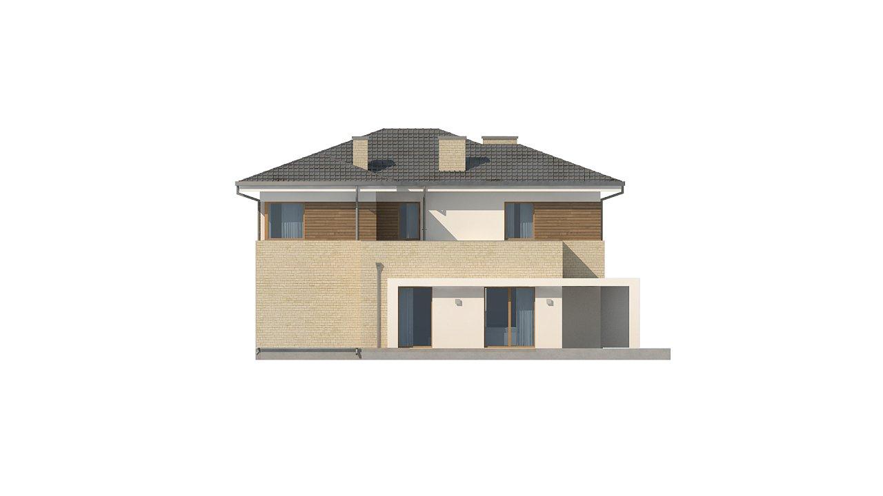 Современный комфортный двухэтажный дом с баней 12