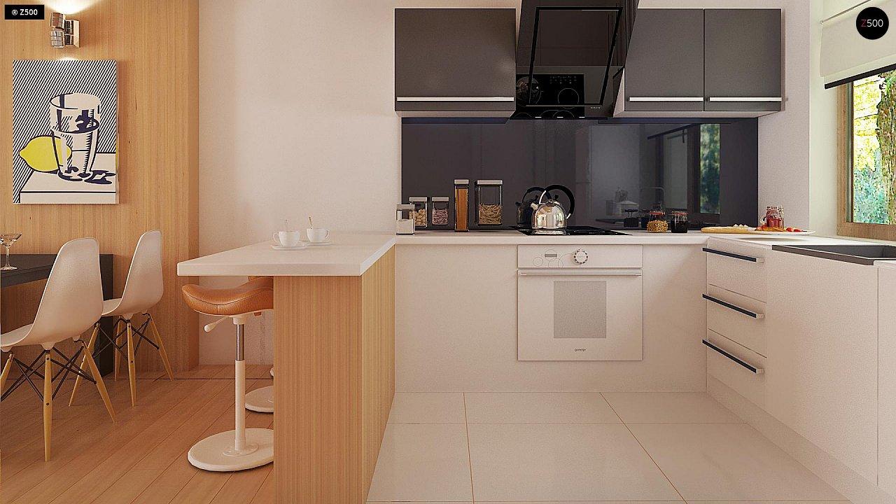 Проект одноэтажного классического дома адаптированного для каркасной технологии строительства. - фото 8