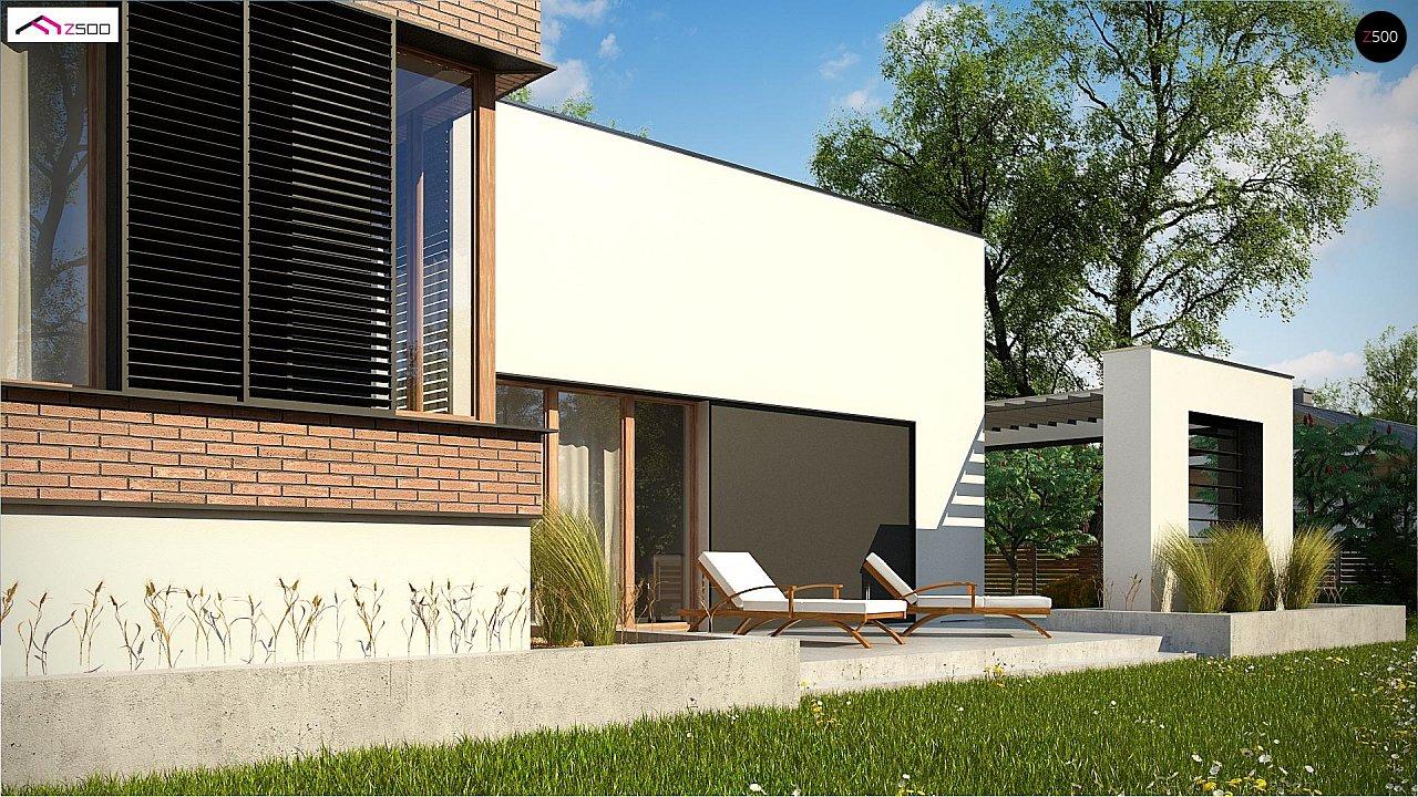 Современный дом минималистичного дизайна с подвалом - фото 8