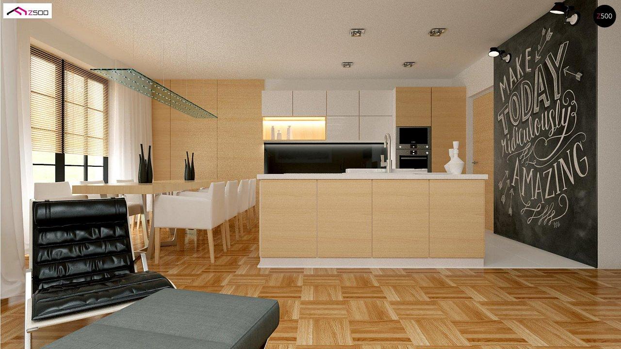 Красивый одноэтажный дом с удобной планировкой 7