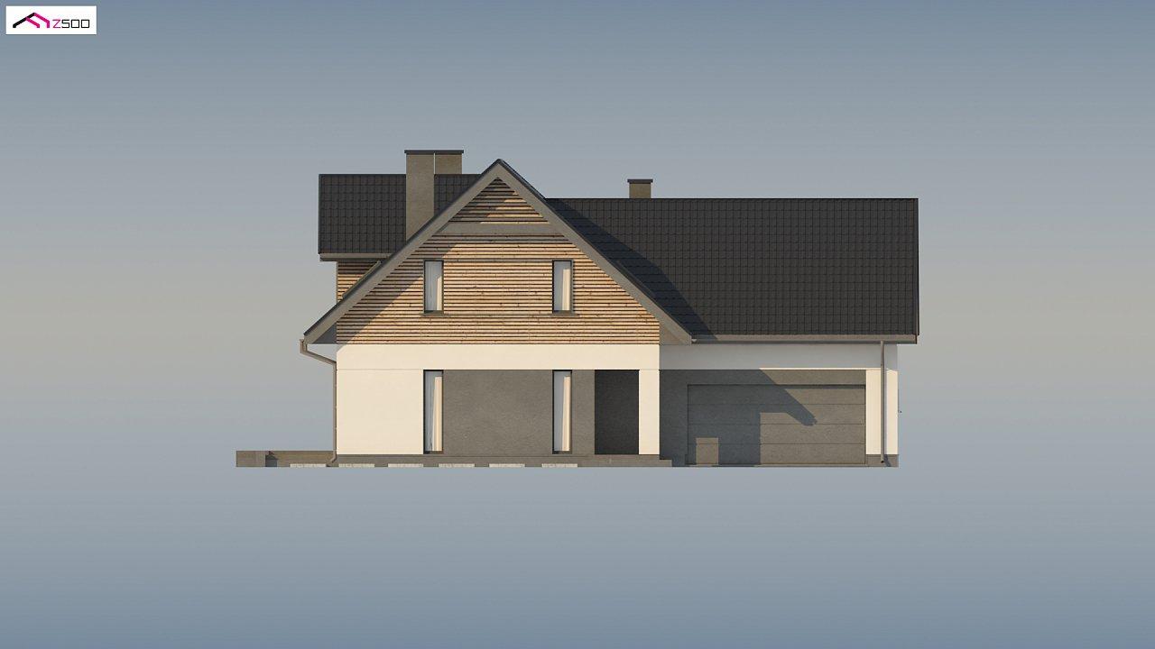 Стильный и аккуратный мансардный дом с гаражом для двух машин. 7