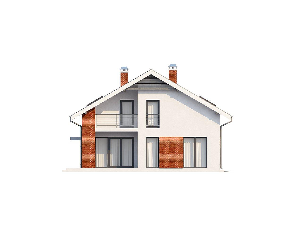 Просторный и комфортный дом со встроенным гаражом и двумя спальнями на первом этаже. 5
