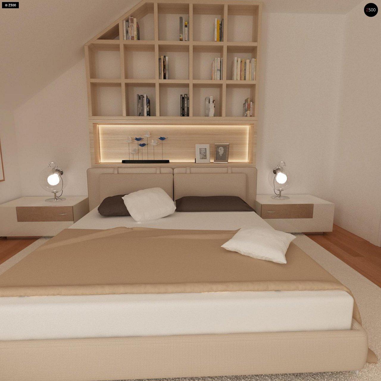 Проект стильного, функционального и недорогого двухсемейного дома. 16
