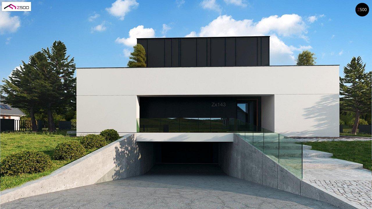 Дом в современном стиле с подвалом 3
