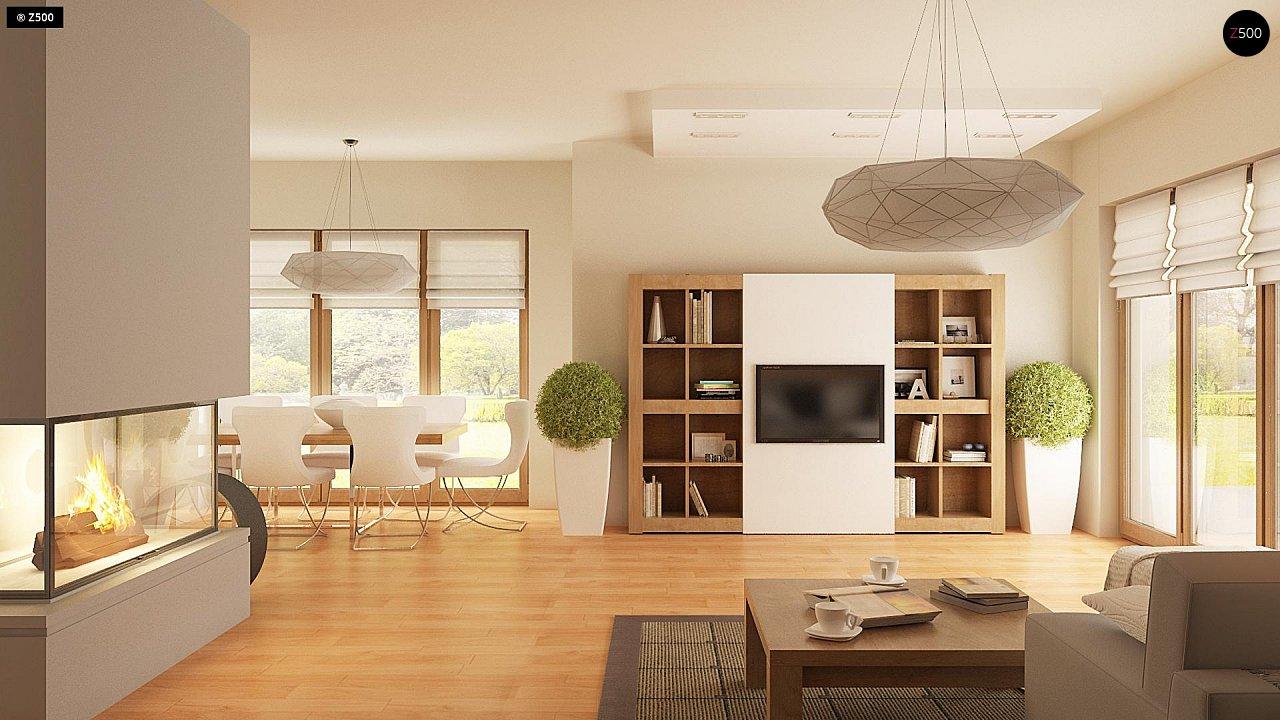 Версия проекта Z270 с альтернативной планировкой мансардного этажа. 7