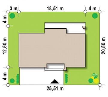 Двухэтажный дом с просторной гостиной, с сауной на первом этаже. план помещений 1