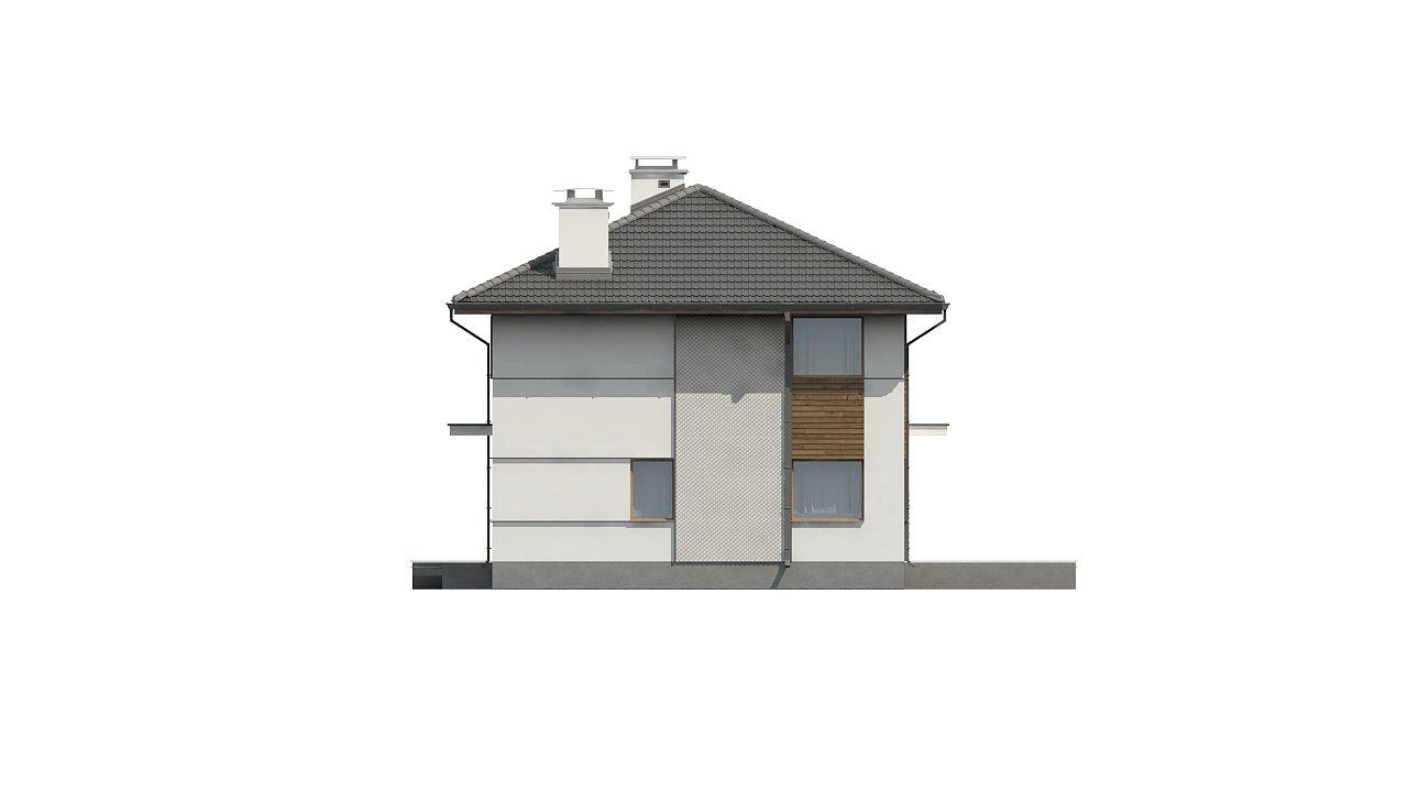 Просторный двухэтажный дом с двумя дополнительными спальнями на первом этаже. 4