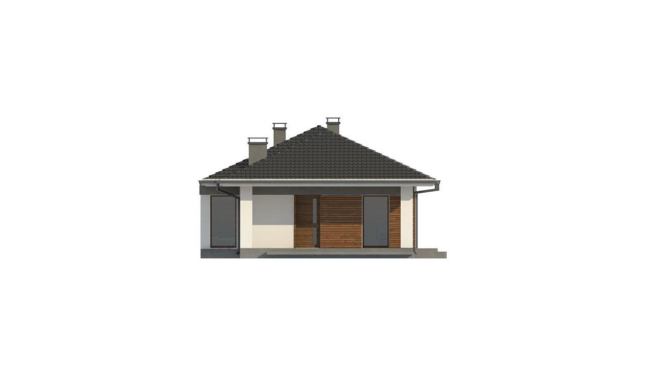 Проект уютного одноэтажного дома с 3 спальнями 7