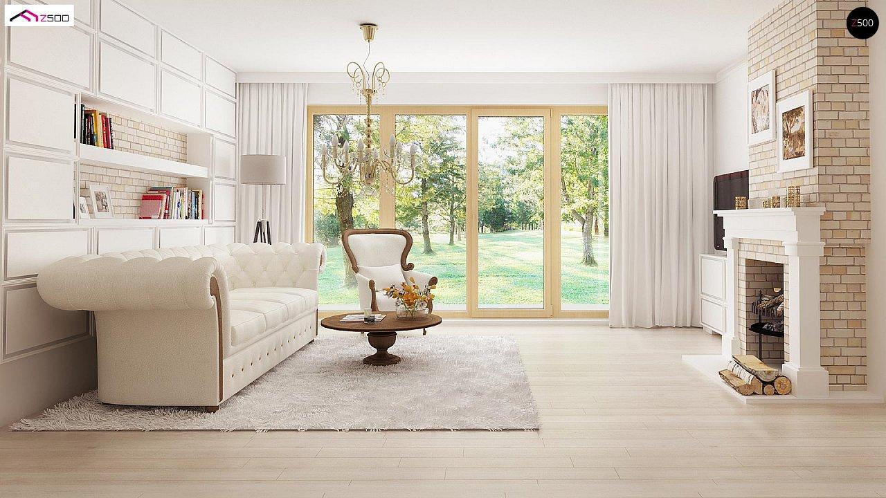 Зеркальный вариант увеличенного дома Z2 - фото 3