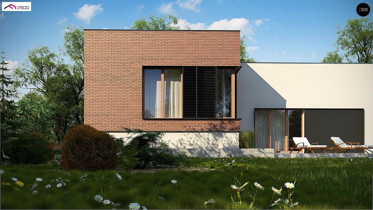 Современный дом минималистичного дизайна с подвалом - фото 7