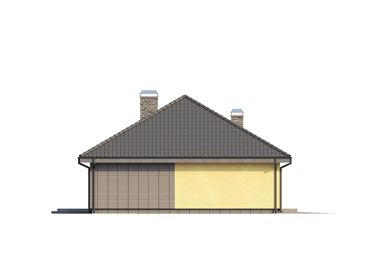 Одноэтажный дом традиционного характера с тремя удобными спальнями и встроенным гаражом. - фото 23