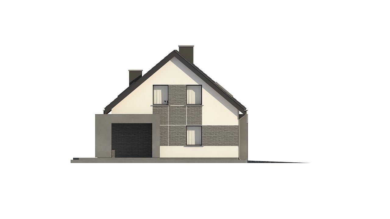 Проект комфортного дома в современном европейском стиле. 9