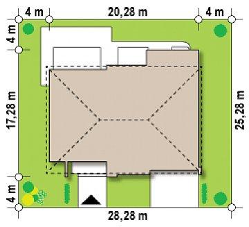 Роскошный современный особняк со вторым светом план помещений 1