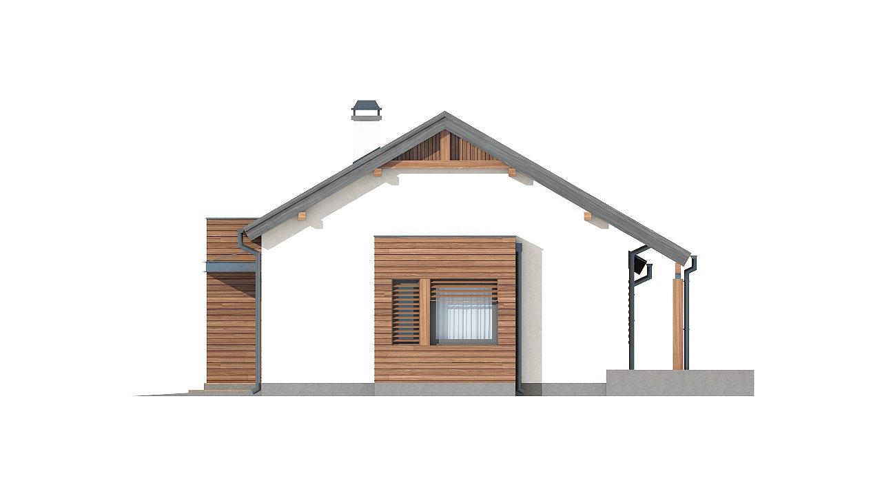 Вариант проекта Z93 с гаражом на одну машину - фото 23