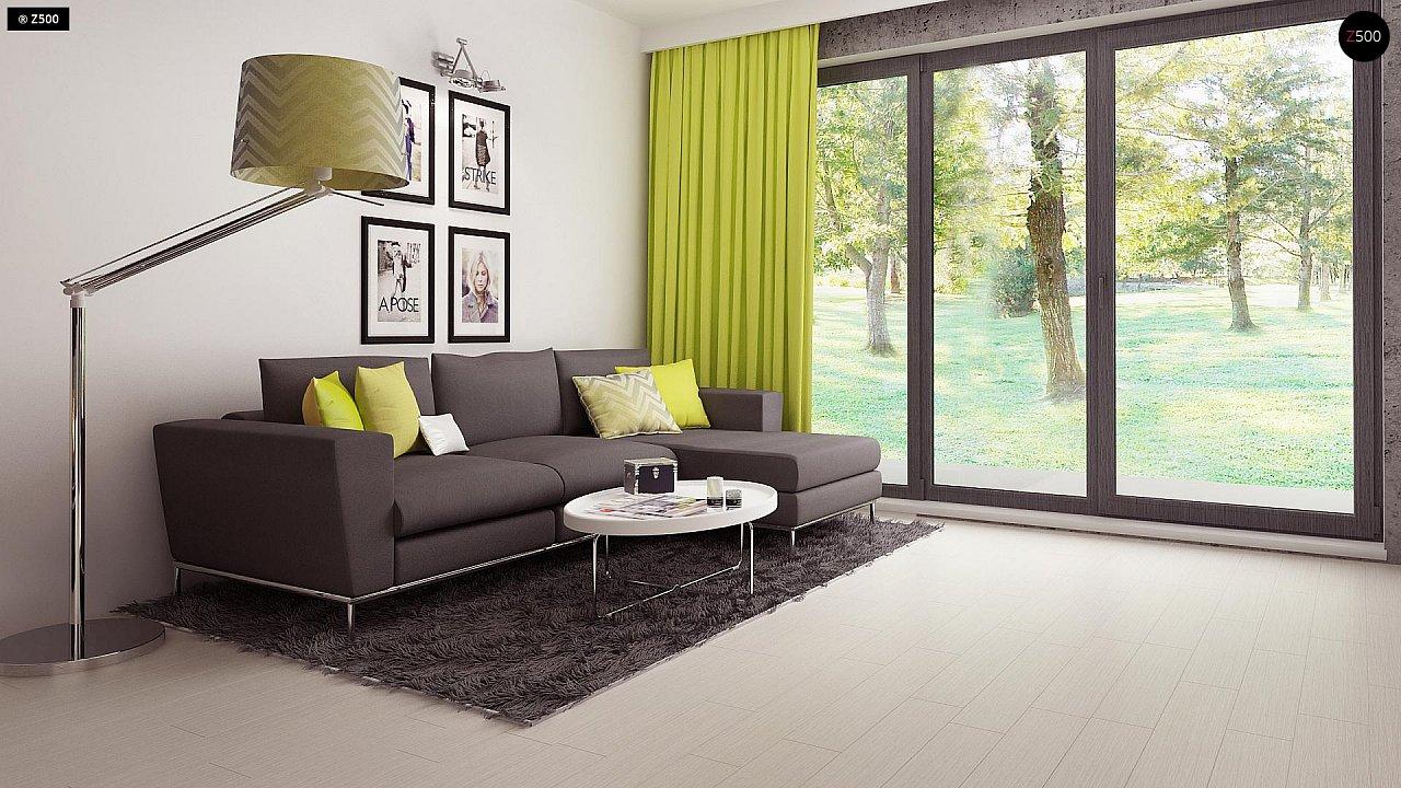 Компактный и удобный дом традиционной формы, подходящий, также, для узкого участка. 7