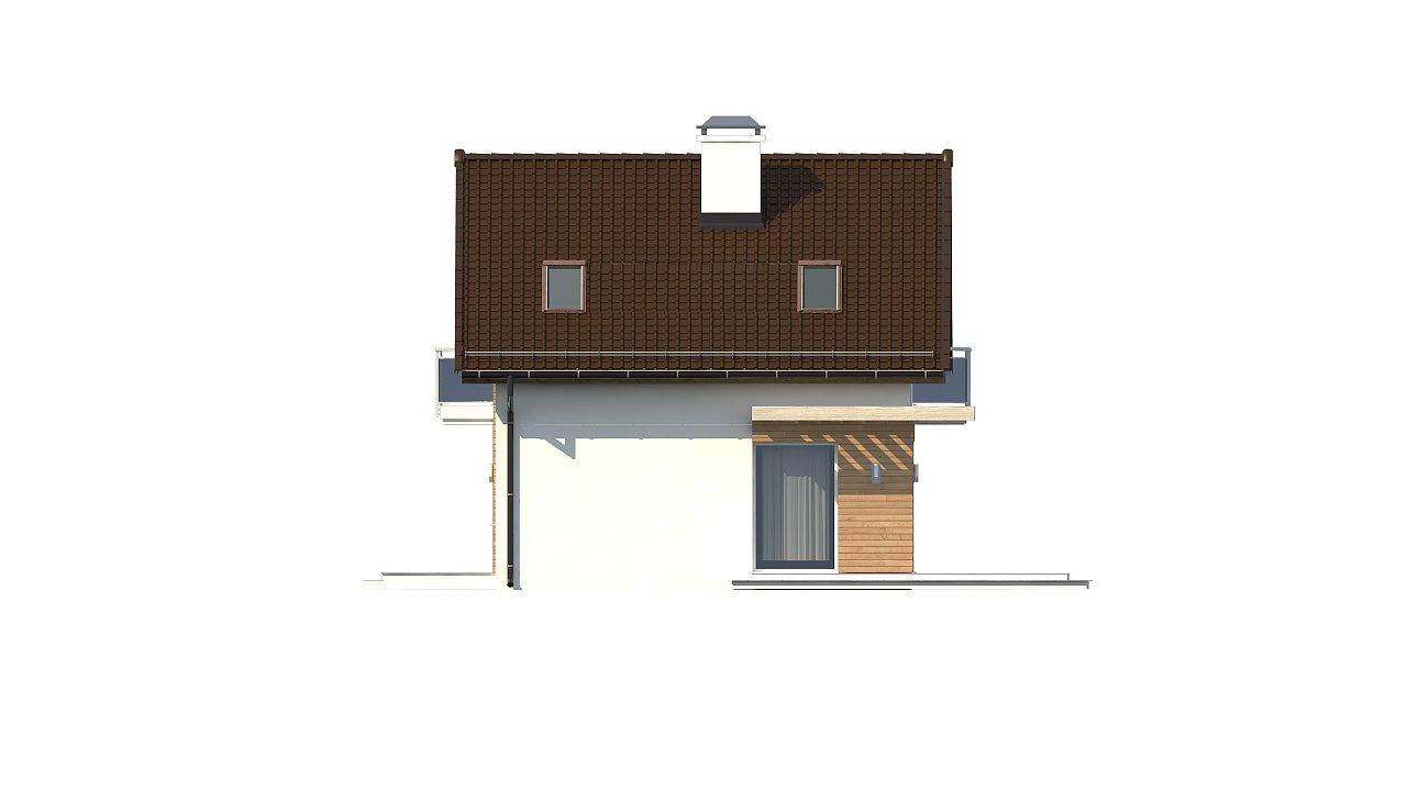 Компактный, аккуратный и стильный дом с двумя спальнями. - фото 18