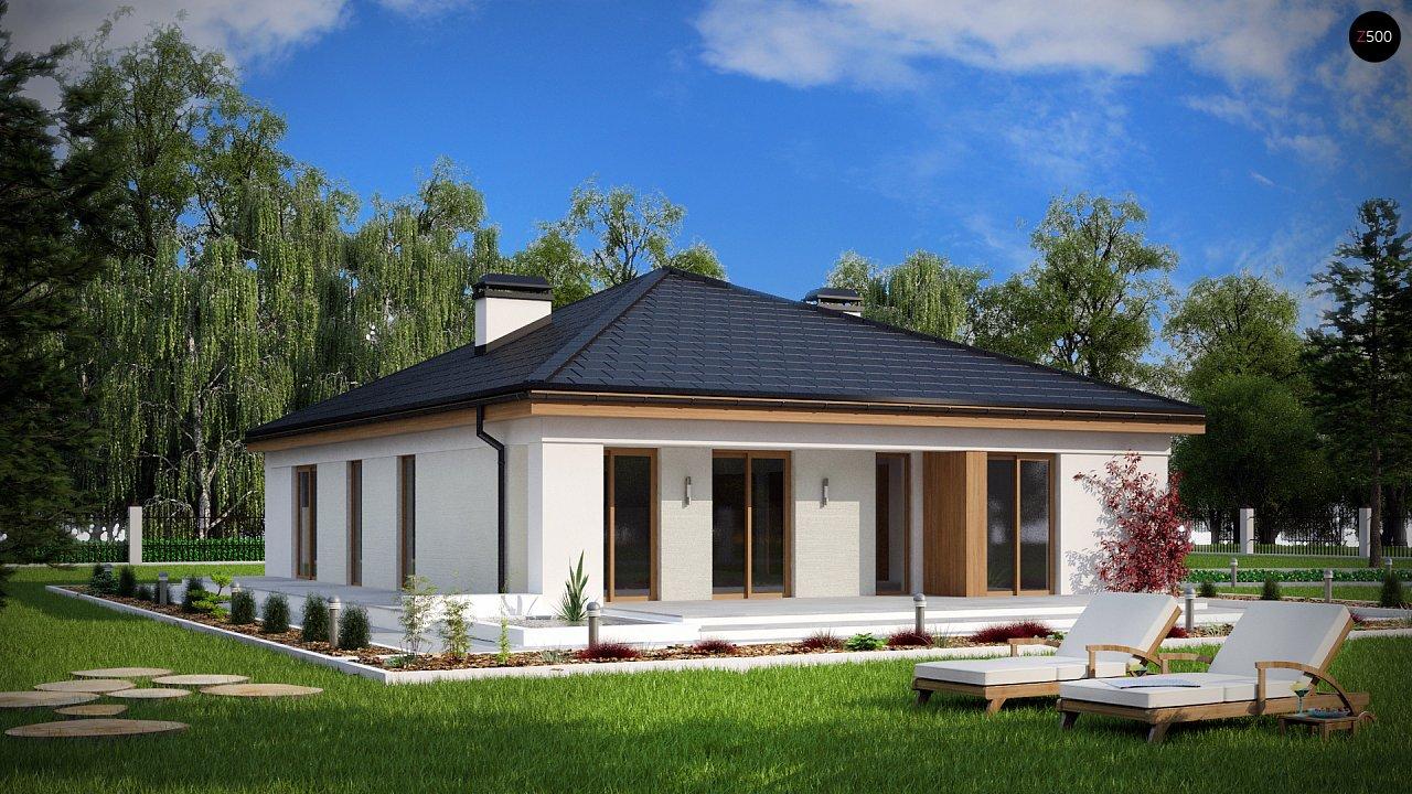 Практичный одноэтажный дом с четырьмя спальнями и гаражом. 2