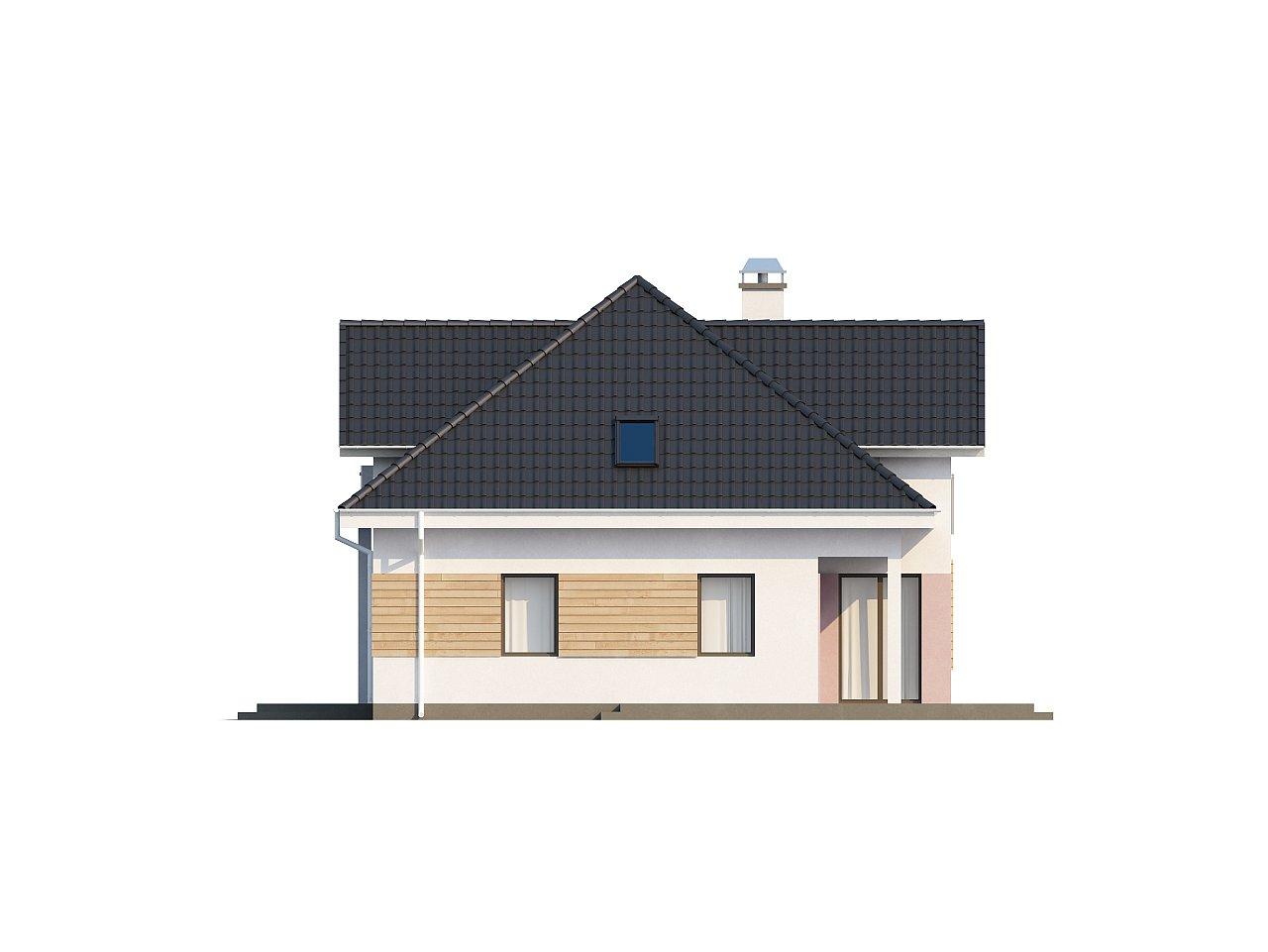 Комфортный стильный дом с большим гаражом для двух автомобилей и дополнительной комнатой над ним. 6