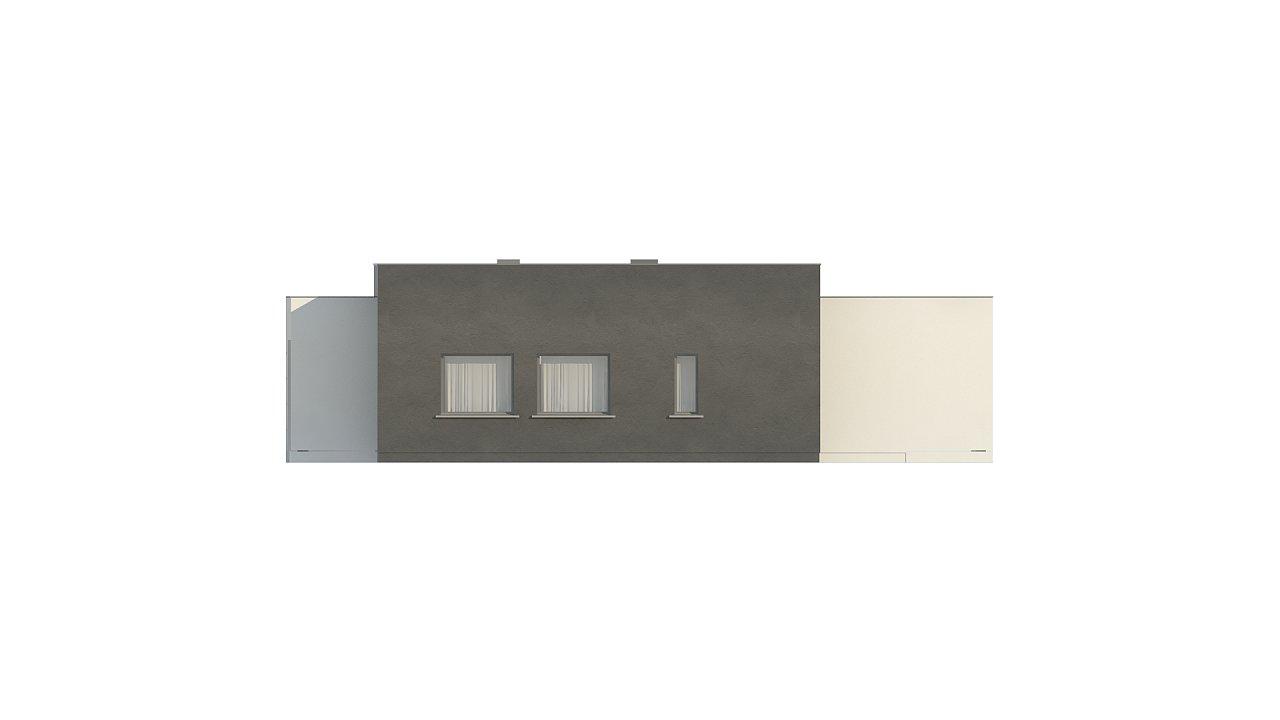 Современный дом с 4 спальнями, гаражом на 2 машины и большими окнами 21