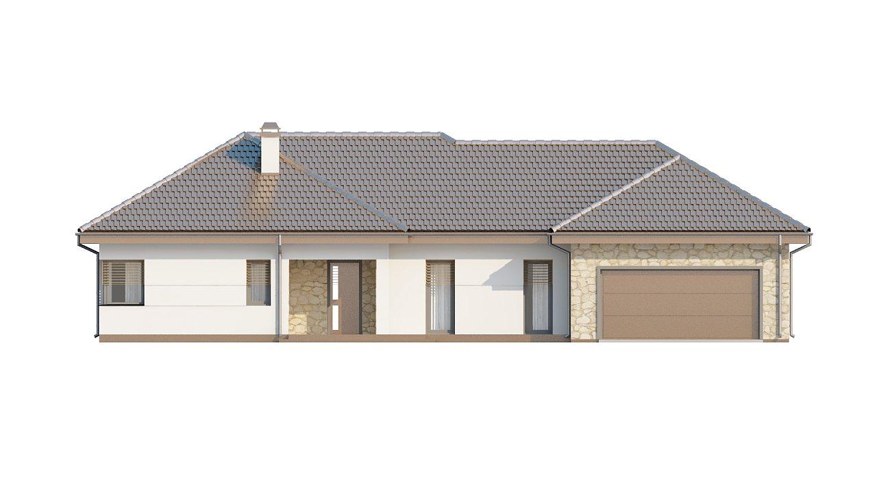 Функциональный удобный дом с гаражом на два автомобиля и большим хозяйственным помещением. - фото 3