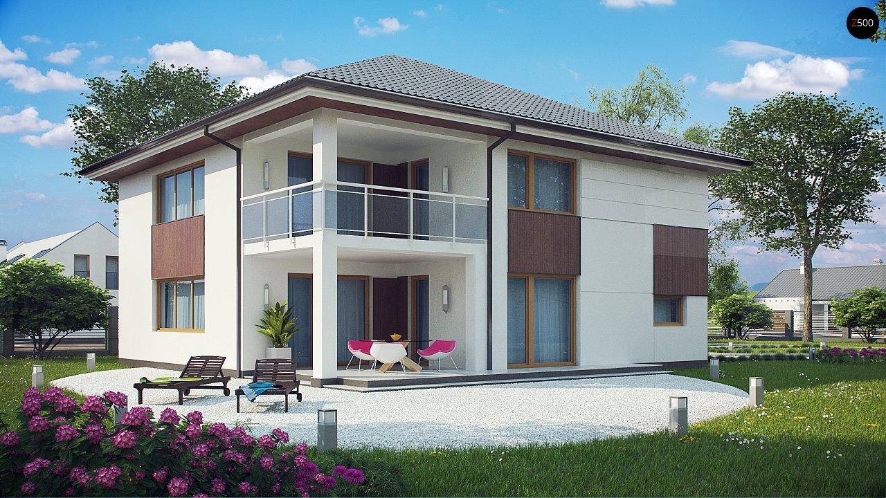 Элегантный комфортабельный двухэтажный дом с современными элементами архитектуры. - фото 2