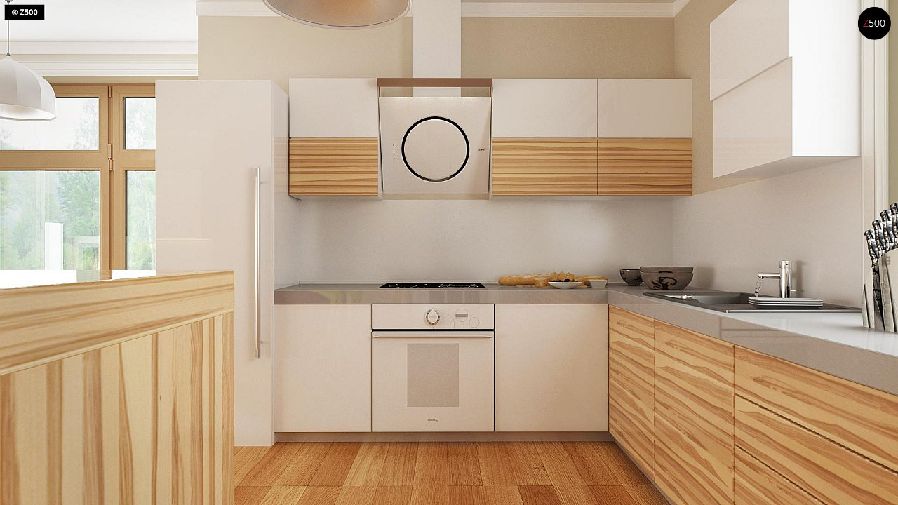 Проект традиционного дома с возможностью адаптации чердачного помещения. 8